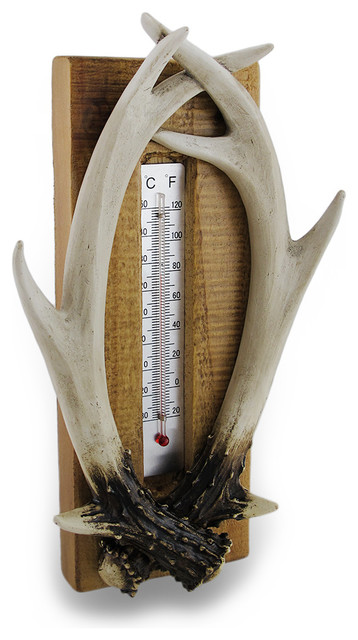 Rustic Deer Antler Indoor  Outdoor Thermometer. Wholesale Home Decor Distributors. How To Decorate Small Balcony. String Lights For Room. 60's Party Decorations. Decorations For Home. Grave Digger Room Decor. Decorative Pillows Target. Living Room Furniture Tables