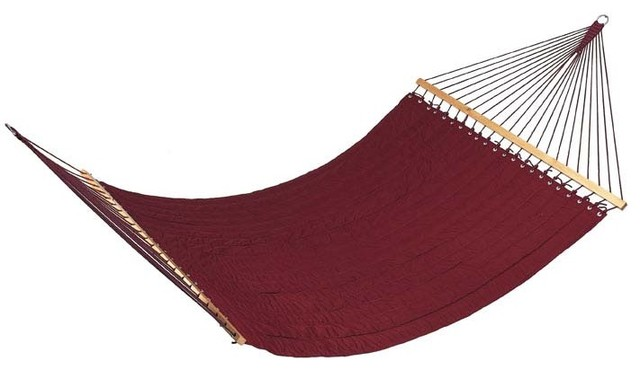 Guido quilted fabric hammock by outback chair co modern for Fabric hammock chair