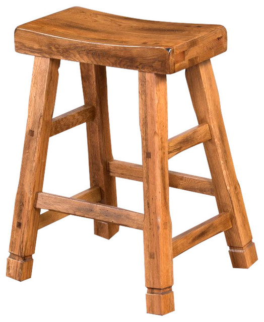 Sedona Saddle Seat Bar Stool Rustic Bar Stools And