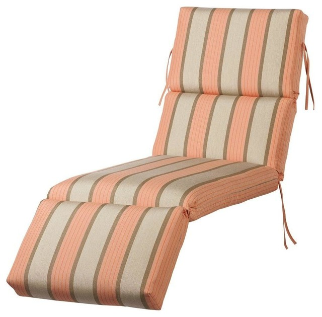 80 in l cameo sunbrella bullnose outdoor chaise lounge for 80s lounge chair