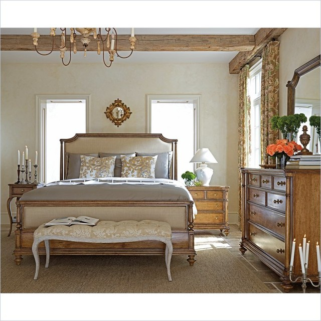 stanley furniture arrondissement palais upholstered bed 6