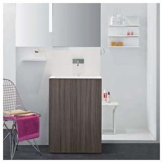 Makro Light30 Two Door Touch Wood Vanity Modern Bathroom Vanities And Sink Consoles By Ybath