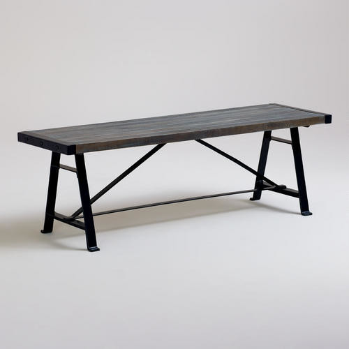 Venice Backless Dining Bench Modern Dining Benches By Cost Plus World Market