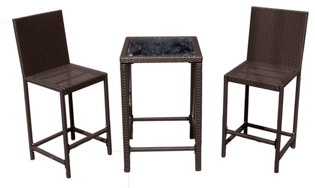 Bar Height Bistro Set Modern Patio Furniture And Outdoor Furniture By S