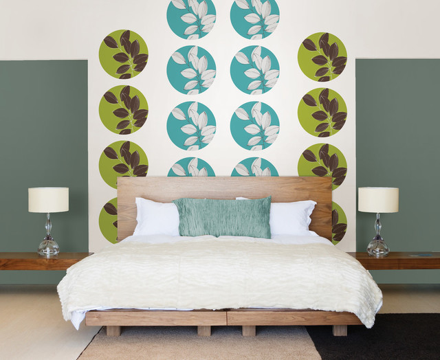 habitat dots set of wall decals contemporary wall