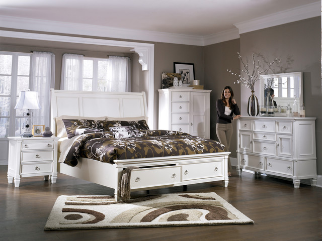 Prentice Sleigh Storage Bedroom Set Bedroom Furniture Sets Philadelphia By