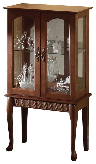 Simply elegant curio cabinet traditional china cabinets and hutches by gifts galore and more - Elegant contemporary curio cabinets furniture ...