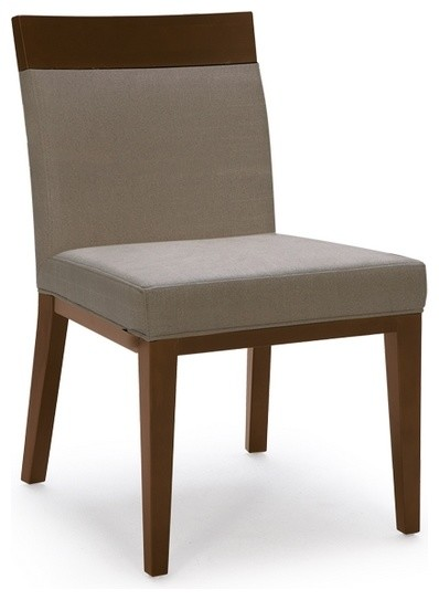 fabric dining chair with wood frame modern dining chairs