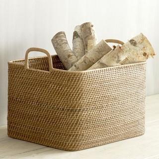 Modern-Weave Oversize Storage Bin - Modern - Baskets - by ...
