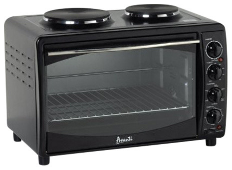 Countertop Convection Oven With Burners : ... Black Electric Oven/Convection Toaster With 2 Burners modern-ovens