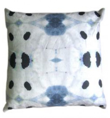 Galileo Watercolor PillowEclecticDecorative Pillowsby