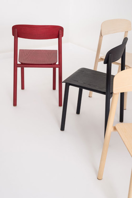 stapelstuhl profile chair scandinave chaise de salle manger other metro par holzdesignpur. Black Bedroom Furniture Sets. Home Design Ideas