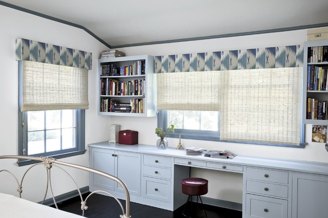 smith and noble slim tailored cornice contemporary window treatments los angeles by. Black Bedroom Furniture Sets. Home Design Ideas
