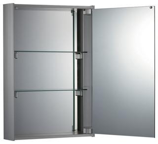 Faced Mirrored Door Medicine Cabinet - Modern - Medicine Cabinets ...