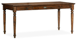 Printer S Writing Desk Traditional Desks And Hutches