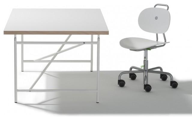 eiermann kinderschreibtisch modern kids tables chairs by. Black Bedroom Furniture Sets. Home Design Ideas