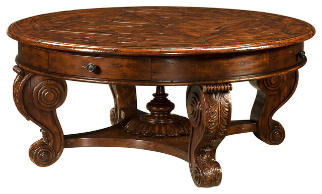 Theodore Alexander Castle Bromwich The Rustic Cocktail Table Victorian Coffee Tables By