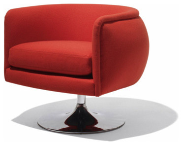 D Urso Swivel Chair By Knoll Modern Armchairs And