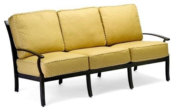 Sutherland Cushion Sofa Slat Back Addison Contemporary Outdoor Sofas By Shopladder