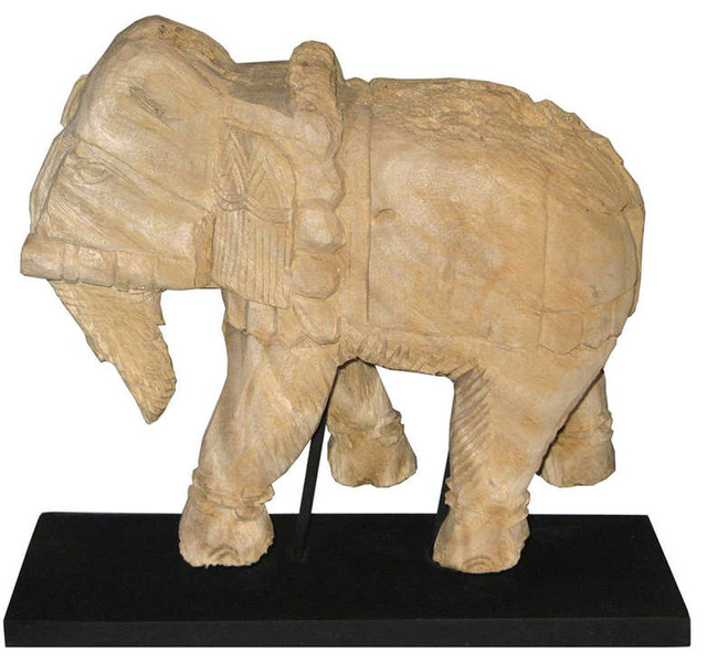 Thai Eroded Elephant Asian Home Accessories Decor Other Metro By Tansu Design