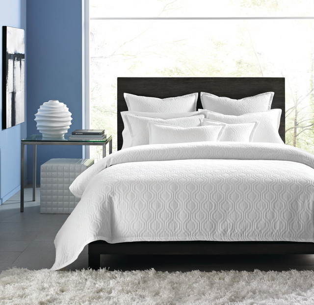 Hotel Collection Bedding Ogee Matelasse Contemporary