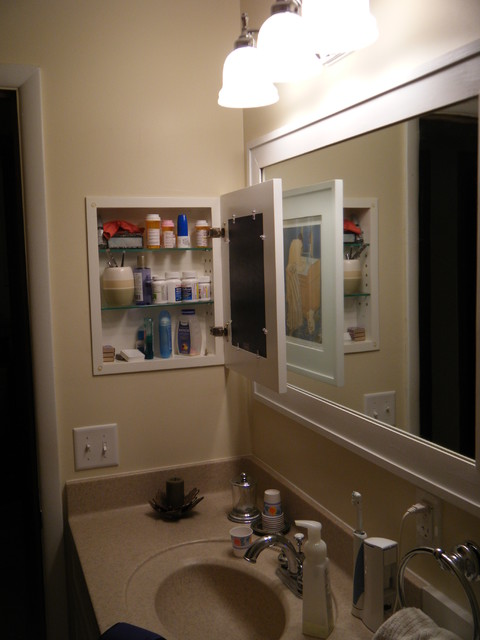 Recessed Picture Frame Medicine Cabinets With No Mirrors Bathroom Cabinets Shelves Los