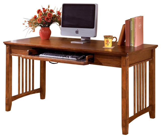 Mission Style Writing / Computer Desk - Contemporary ...