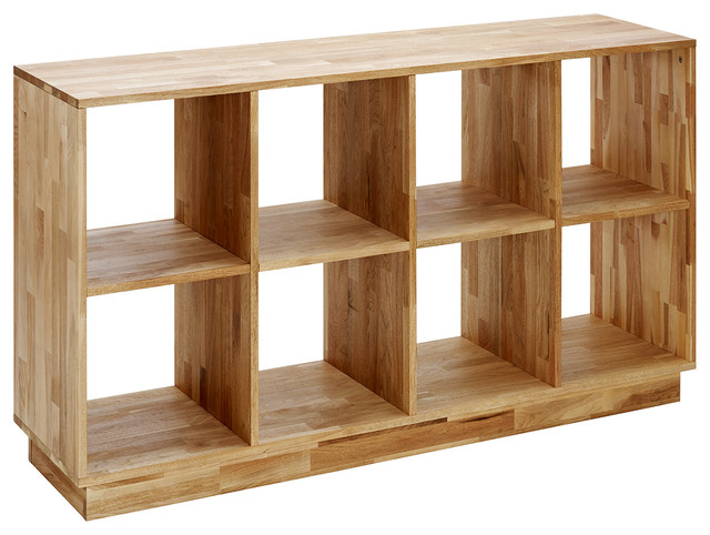 Mash lax 4x2 wood bookcase modern bookcases by plush for Mash lax