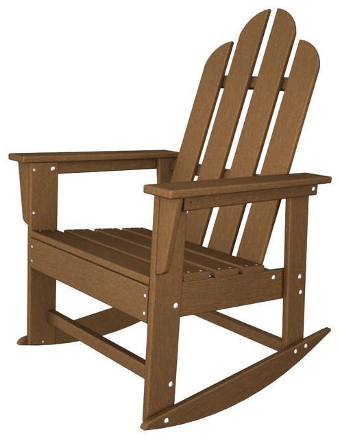 long island adirondack rocker all weather outdoor recycled plastic furniture beach style. Black Bedroom Furniture Sets. Home Design Ideas
