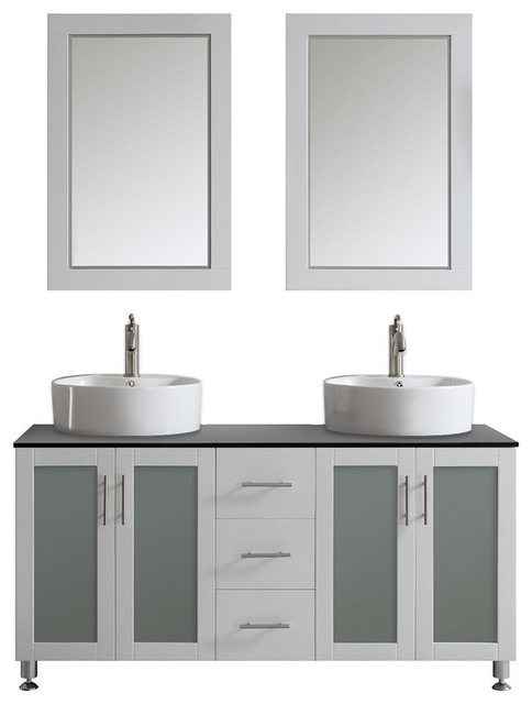 sink mirror included 60 contemporary bathroom vanities and sink