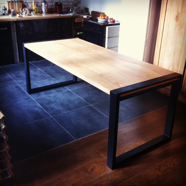 table haute montreuil. Black Bedroom Furniture Sets. Home Design Ideas