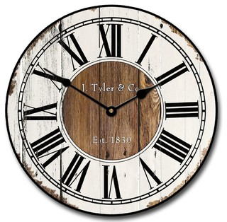 Old Gallery Wall Clock 12 Quot Farmhouse Wall Clocks By