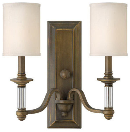 All Modern Wall Sconces : Sconce Sussex Two-Light Sconce - Modern - Wall Sconces - by Bellacor