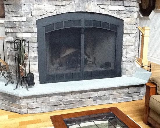 Wood Burning Fireplace Makeover