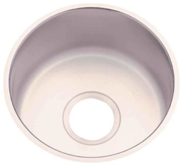 Revere Stainless Steel Sinks : Revere Bathroom Undermount Stainless Steel 12x12x6 0-Hole Single Bowl ...