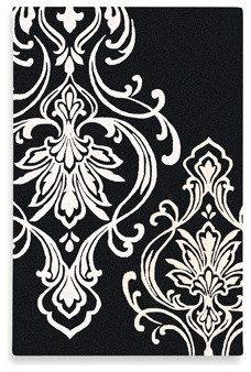 olson modern classics rug by surya black and white contemporary rugs