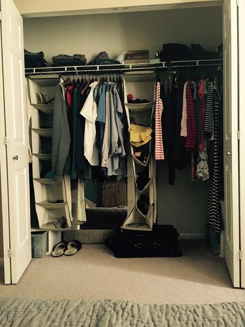 Closet Design Organization Help