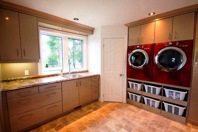 Efficient laundry rooms