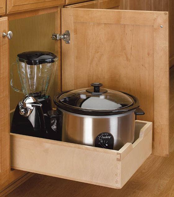 rev a shelf pull out wood drawer meium ivory. Black Bedroom Furniture Sets. Home Design Ideas