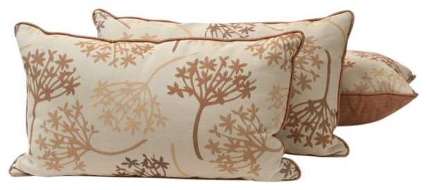 Decorative Pillows Retail : SOLD OUT! 3 Pillows in Fabric by Kravet for Sunbrella - $660 Est. Retail - $299