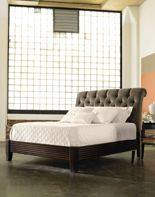 Stickley Leopold S Tufted Bed 6128 Traditional Beds