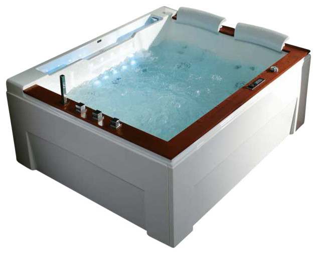 Clearwater luxury whirlpool tub contemporary bathtubs for Luxury tubs