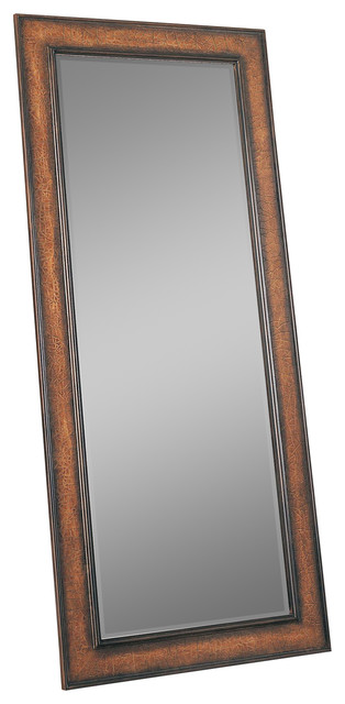 Accent mirrors long floor mirror contemporary for Long floor mirror