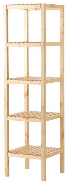 Molger shelving unit birc modern bathroom cabinets for Ikea free standing bookshelves