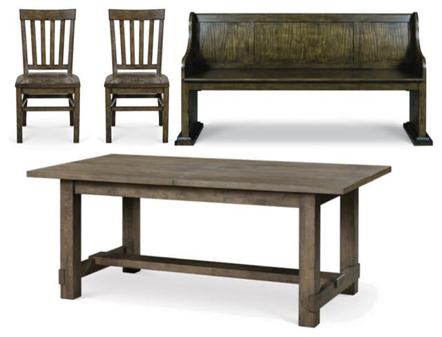 Magnussen Karlin 4 Piece Rectangular Dining Table Set Dry