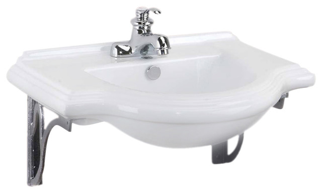 Wall Mount Sinks Medium Bayside Metal Supports For 4