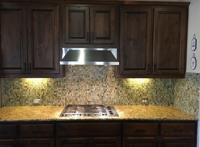kitchen backsplash paper faced glass mosaic tile