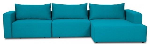 ecksofa mandalay ii mit schlaffunktion t rkis links. Black Bedroom Furniture Sets. Home Design Ideas