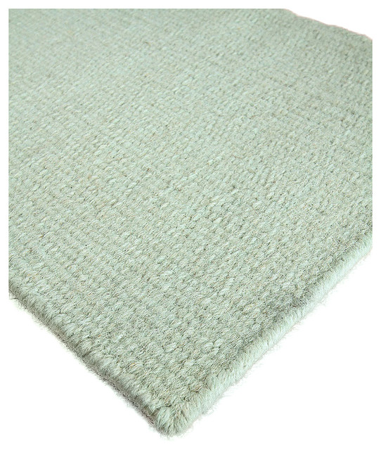 Tradewind solid wool berber rug 6 39 x 9 39 transitional for Wool berber area rug