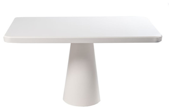 SOLD OUT Modern White Pedestal Table 1 299 Est Retail